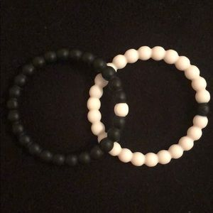 Black and White Lokai  bracelet